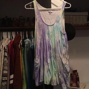 Tobi Tie-Dye Sun Dress